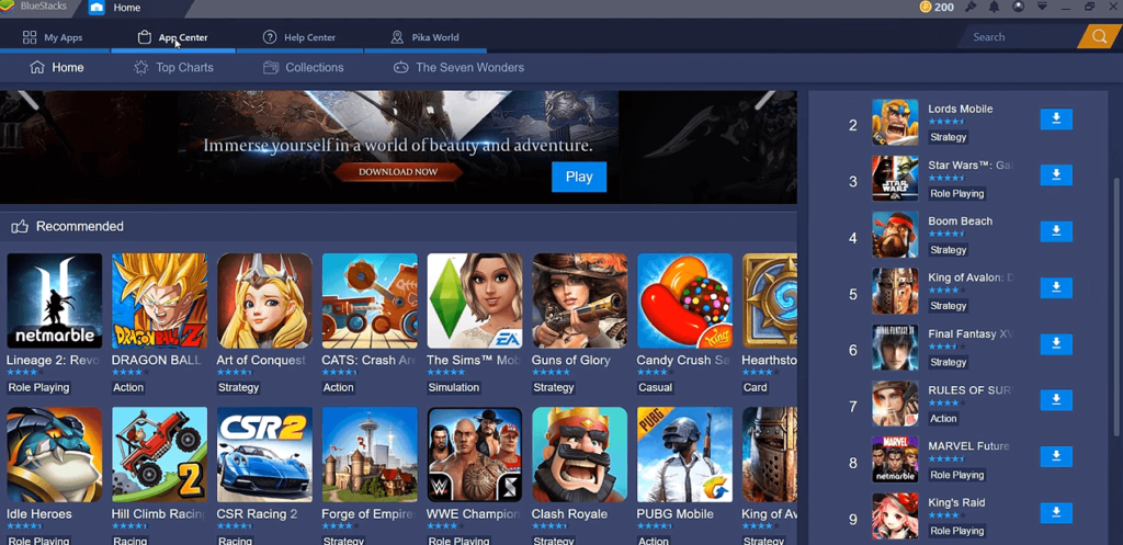 DOWNLOAD BLUESTACKS ON PC