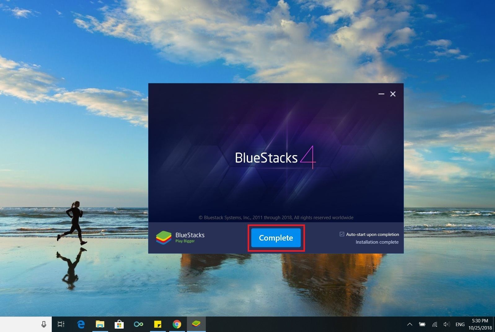Open Bluestacks