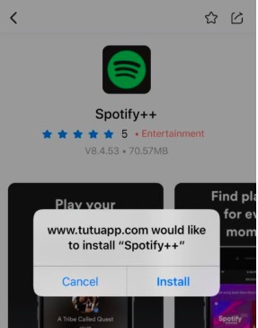 Install Spotify Plus on iPhone & iPad