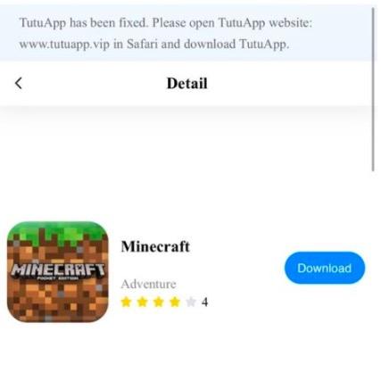 Minecraft Pe Download Ios Iphone Ipad Tutuapp