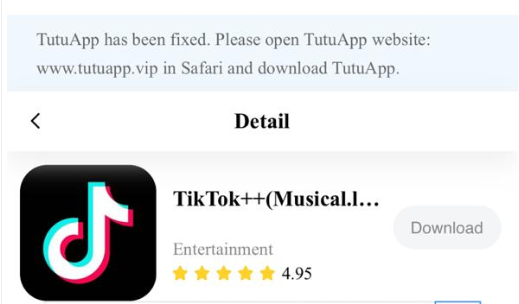 TikTok++ Download on iPhone & iPad