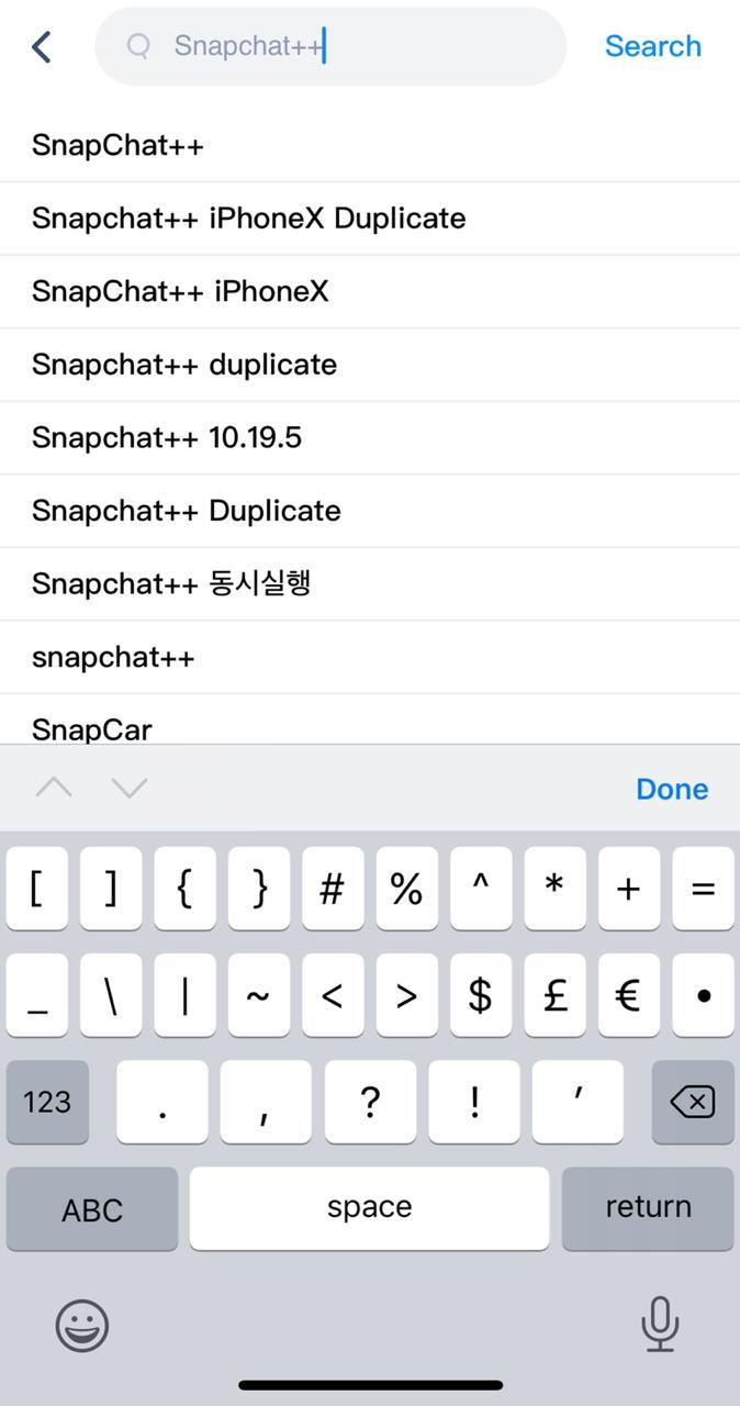 """Search """"SnapChat++"""""""