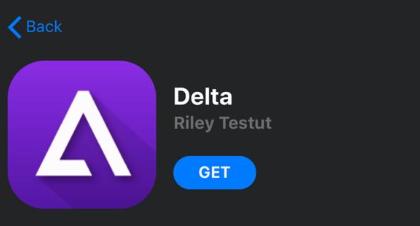 Get 'Delta Emulator'