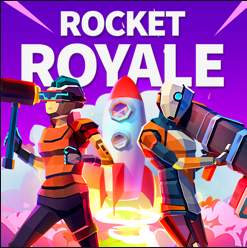 Rocket Royale Game UI Features