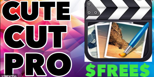Download Cute CUT Pro Free on iOS (Video & Photo Editor) – TuTuApp