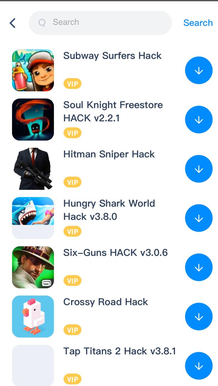 Hit 'Subway Surfers Hack' among other results